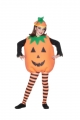 PUMPKIN COSTUME,ORANGE,FACE,Child Size